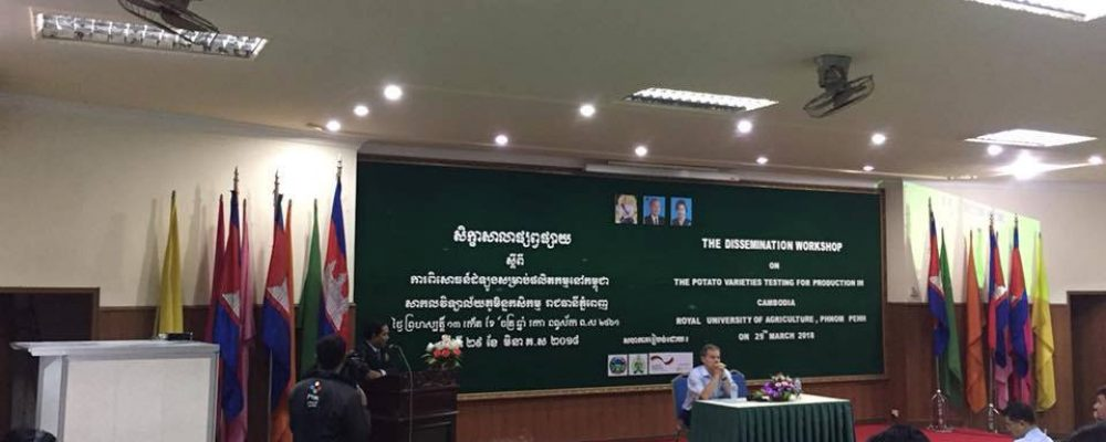 Dissemination Workshop on the Potato Varieties Testing for the Production in Cambodia
