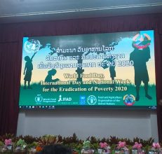 World Food Day celebration in Lao PDR