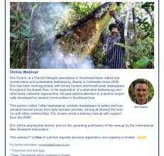 Online Webinar: INTRODUCTION TO RAFTER BEEKEEPING, Jan 21, 2021, 03:00 PM in Bangkok