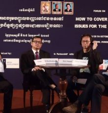 HOW TO COVER RURAL ISSUES IN THE MEDIA?, 25th OCTOBER 2018, PHNOM PENH
