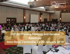 SRP 8th Plenary Meeting and General Assembly 22-24 January 2019 Siem Reap, Cambodia