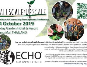 ECHO Asia Agriculture & Community Development Conference 2019