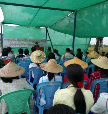 Chemical Free Paddy Field and Sustainable Agriculture special talk, 16 December, 2018, Myanmar