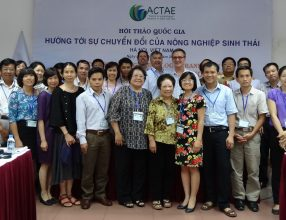 1st national multi-stakeholder workshop addressing Agroecological Transition in Vietnam