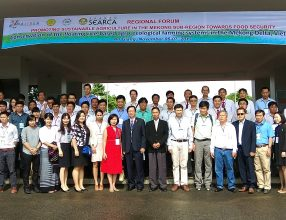 Regional Forum on Promoting Sustainable Agriculture in the Mekong Sub-Region towards Food Security, An Giang University, Vietnam 6-7 November 2017