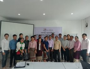 Task force meeting of ALiSEA in Laos, 27th November 2018, Lao PDR