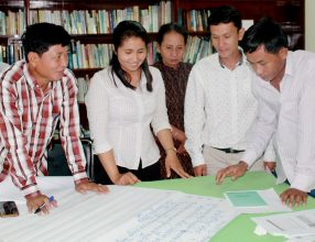 Consultation workshop with Farmers' Organizations' representatives in Cambodia, October 2016