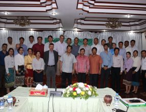 The 1st Lao Bamboo Platform workshop addressing the development of the bamboo sector in Lao PDR
