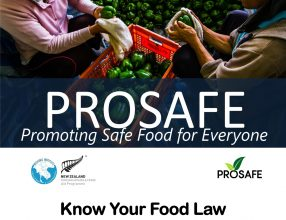 """Lao PDR PROSAFE Agri-Food Forum """"Know Your Food Law"""", March 9, 2021"""