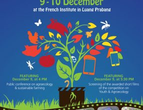 Side event at the Luang Prabang Film Festival, Promoting Sustainable Farming and Agroecology, 9-10 December, Laos