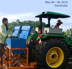 Regional Training on Appropriate Scale Mechanisation for Conservation Agriculture, 6-9 May 2019, Cambodia