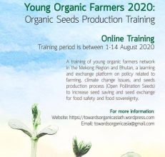 Young Organic Farmers 2020: Organic Seeds Production Training