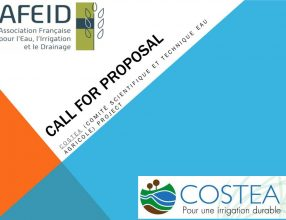 call for proposal: COSTEA (Comité Scientifique et Technique Eau Agricole) project