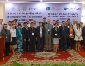 Towards a regional initiative to develop E-learning resources in Agroecology – Phnom Penh, Cambodia, 11th of October 2017